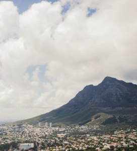A view of Cape Town from Lion's Head